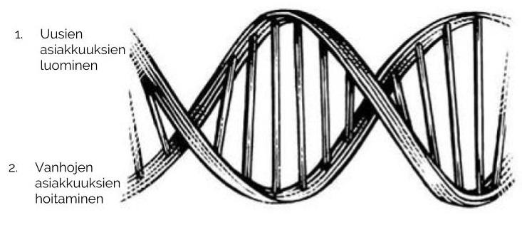 Bisneksen DNA: Jokaisen yrityksen ainoat kaksi tehtävää